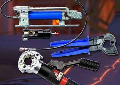 Hydraulic Crimping Tools, Cable Cutters,Cable Ties & PVC Connectors